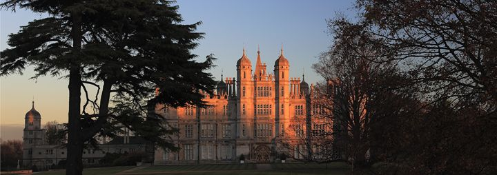 winter sunset Burghley House - Dave Porter Landscape Photography