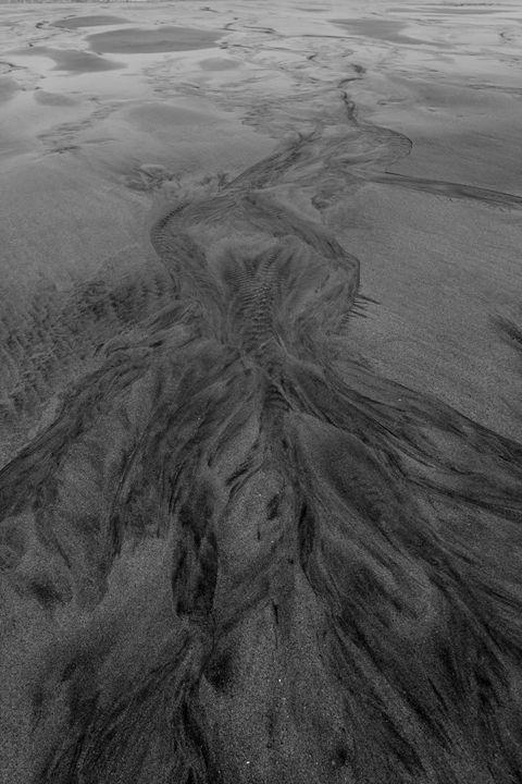 Sand Paterns, Porthmeor beach, - Dave Porter Landscape Photography