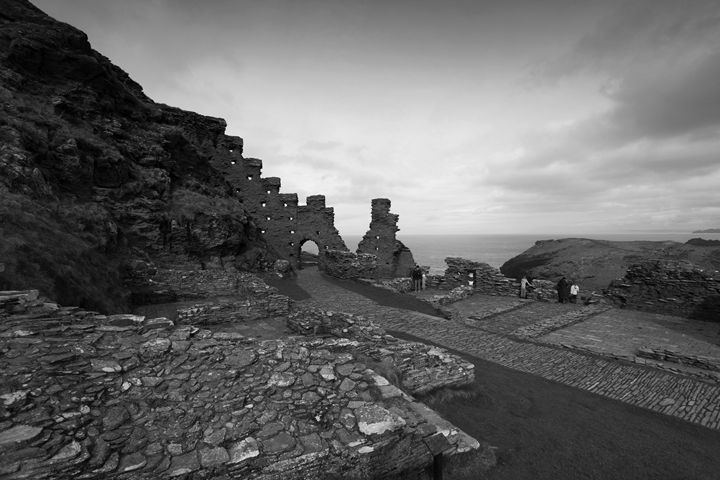 Ruins of Tintagel Castle - Dave Porter Landscape Photography
