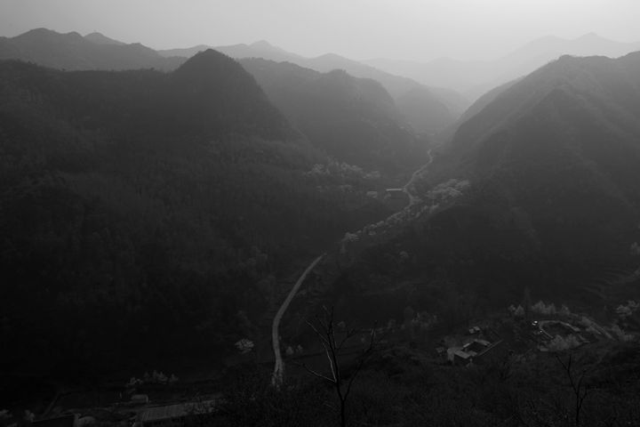 mountains, Great Wall of China - Dave Porter Landscape Photography
