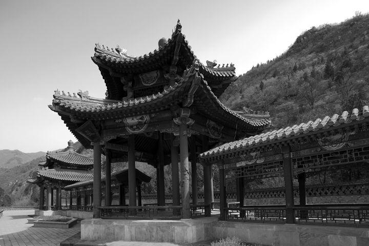 A Pagoda Shrine at Juyongguan - Dave Porter Landscape Photography