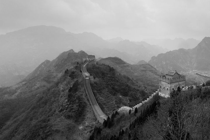 Great Wall of China, Jzhai village - Dave Porter Landscape Photography