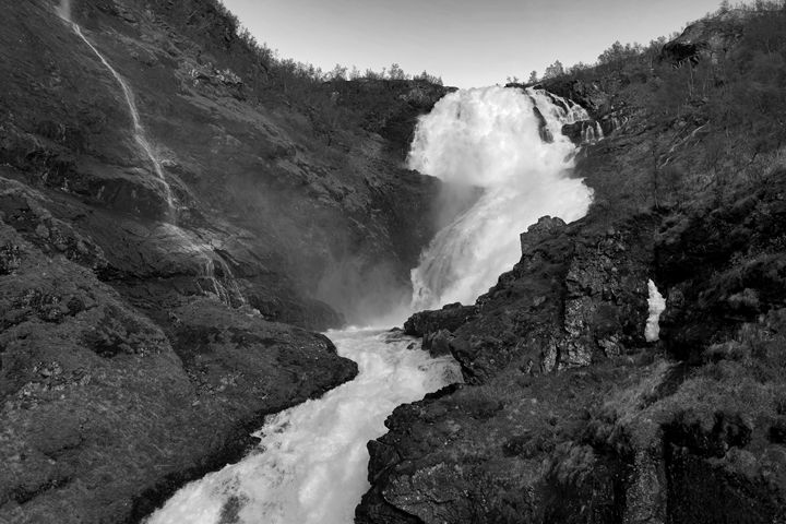 waterfall Kjosfossen - Dave Porter Landscape Photography