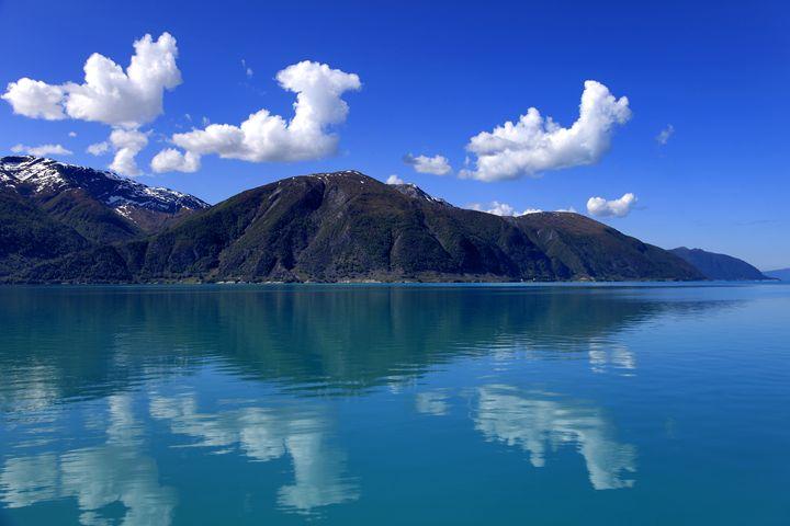 Mountains, Sognefjorden Fjord - Dave Porter Landscape Photography