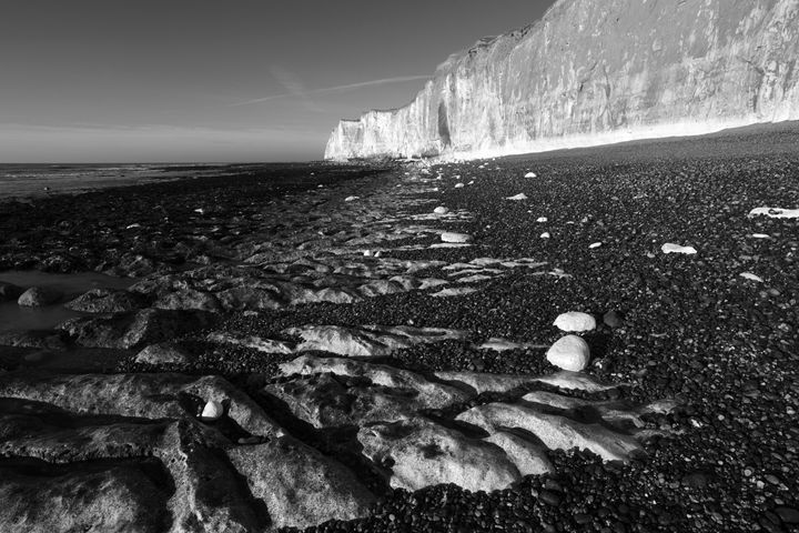 Castle Hill Beach Cliffs, Newhaven - Dave Porter Landscape Photography