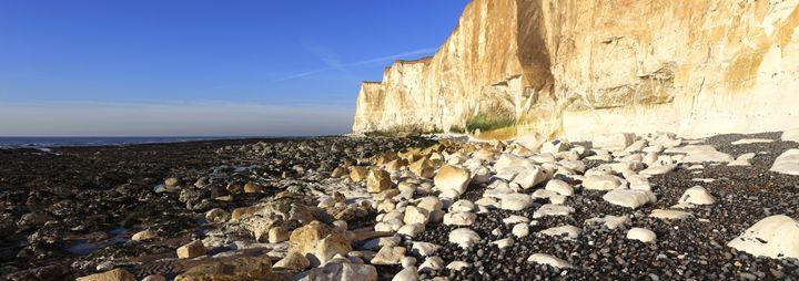 Castle Hill Beach Cliffs, Newhaven - Dave Porter Landscape Photography