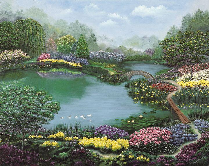Everlasting Garden - Elaine Thompson