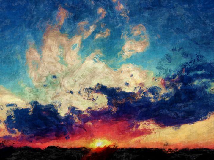 Sunset Flair - Diana Penn Artography