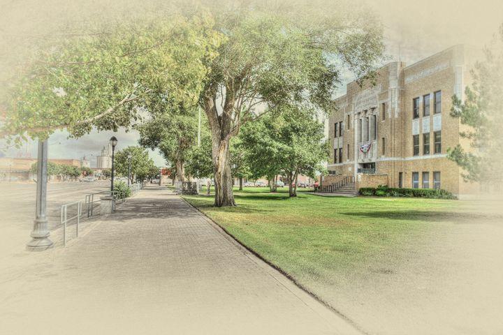 Perryton Texas - Courthouse - Diana Penn Artography