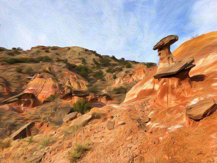 Canyon in Oil - Diana Penn Artography