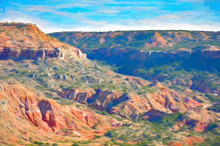 Painted Canyon - Diana Penn Artography