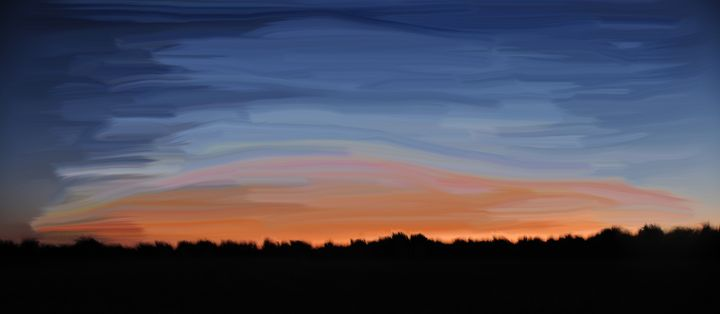 Sunset - Photograph, Prints, and Digital Art, Paintings