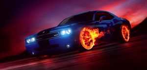 Art - Wheels on Fire - Matthias Zegveld