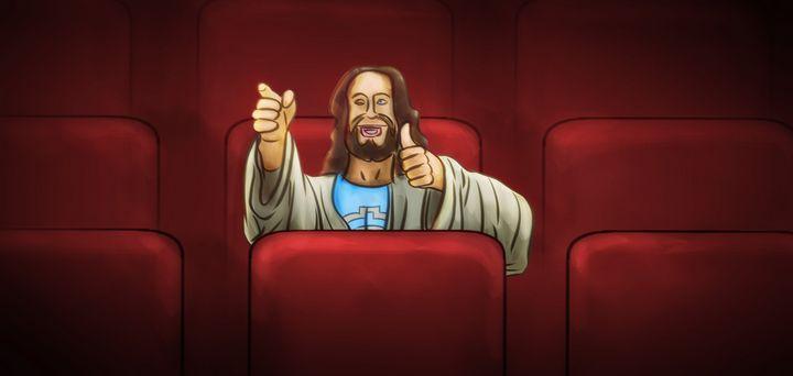 Jesus at the Movies - Artworks by Matthias Zegveld