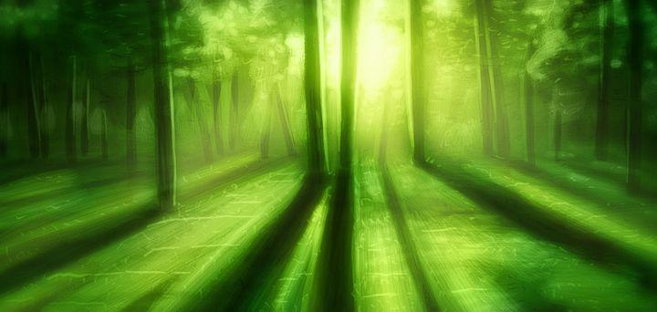 A Green Day - Artworks by Matthias Zegveld