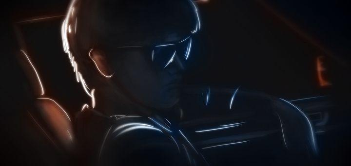 Midnight Driver - Artworks by Matthias Zegveld