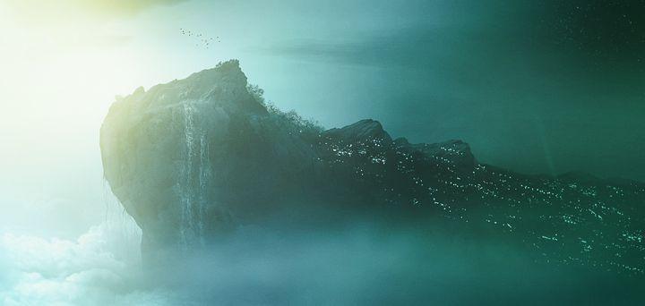 Art - The Rock - Matthias Zegveld