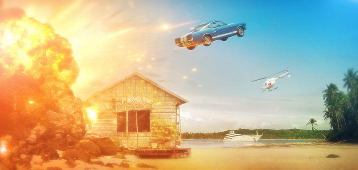 The Great Escape - Artworks by Matthias Zegveld