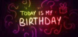 Art — Today Is My Birthday - Matthias Zegveld