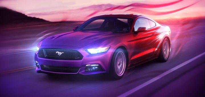 Art — The Great Ford Mustang - Artworks by Matthias Zegveld