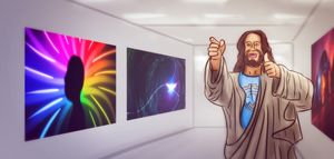 Art — Jesus at the Museum