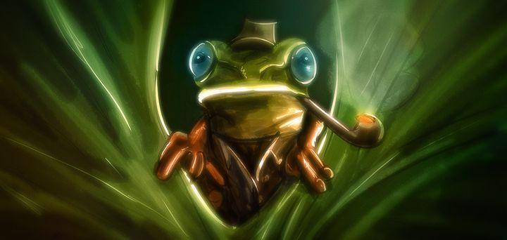 Art -- Inspector Frog - Matthias Zegveld
