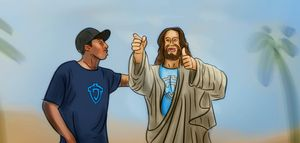 Art - Jesus and Lecrae