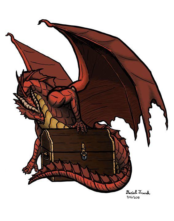 A Dragon and His Treasure - Daniel French