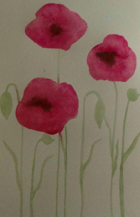 Poppy Glory - Rhonda Hanson