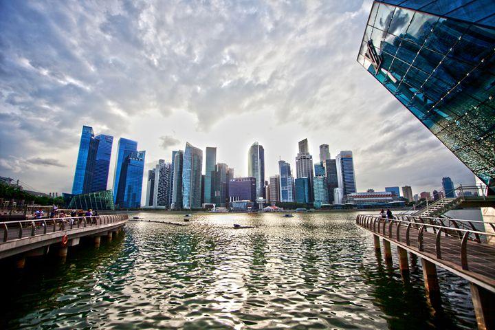 Singapore Skyline - Through My Eyes
