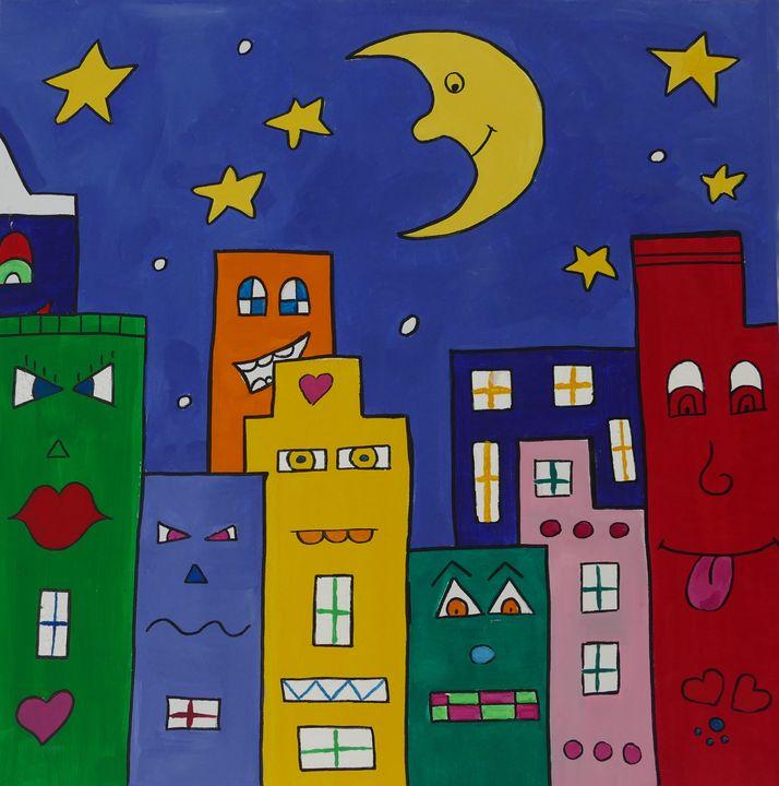 oh happy night - happy art
