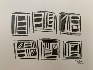 Scribble squares