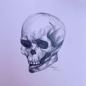 Sketch of Skull
