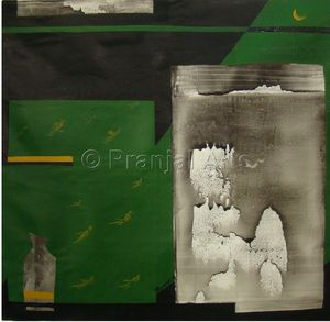 Abstract painting by ashwini bhole