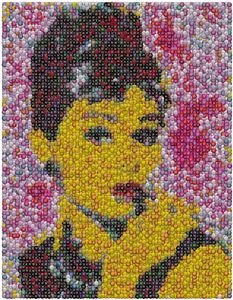 Audrey Hepburn MMs Mosaic