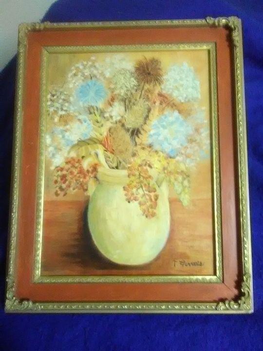 vase flowers - s and j art gallery