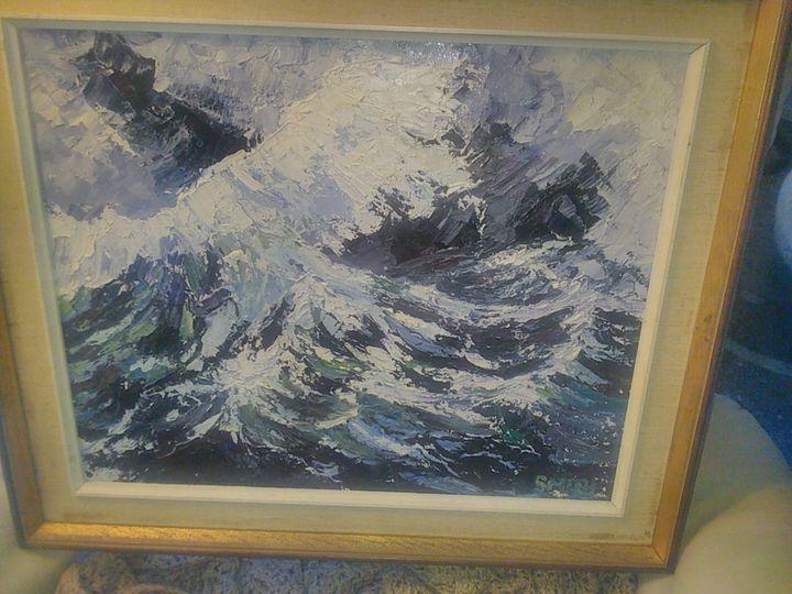 danger at sea - s and j art gallery