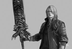 Dante- DMC 5-Black and White