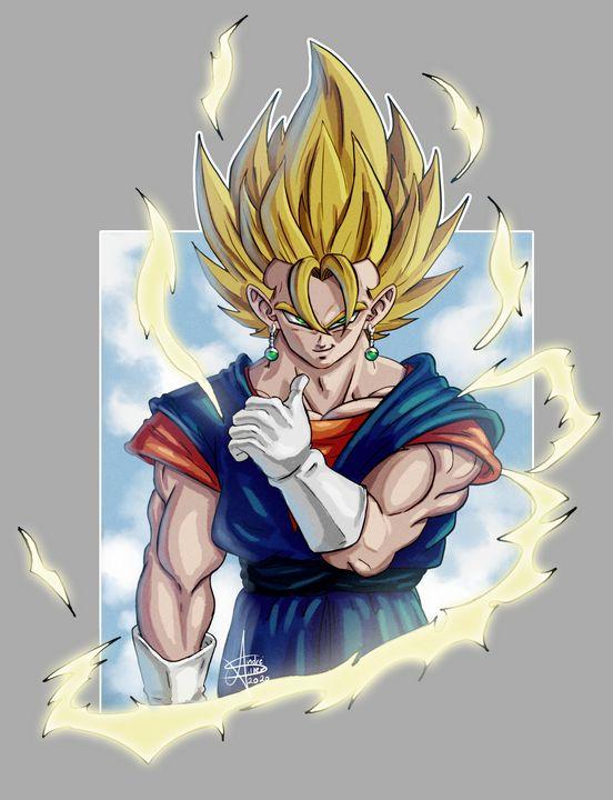 Veggeto - Dragon Ball - An_dré 2B