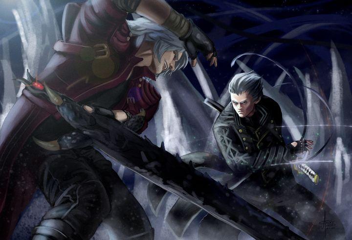 Dante vs Vergil - An_dré 2B