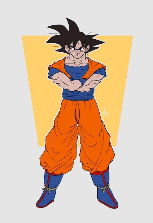 Goku - An_dré 2B