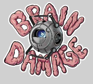 Brain damege - #portal #wheatley