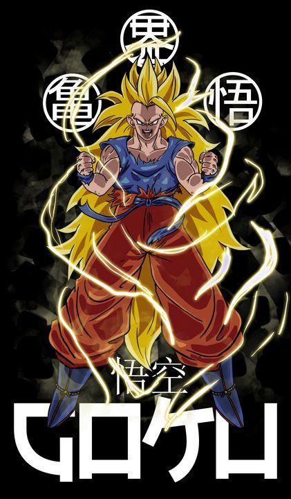 Goku ssj3 - #dbz - An_dré 2B