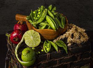 Green Peas - Victoria's Still Life