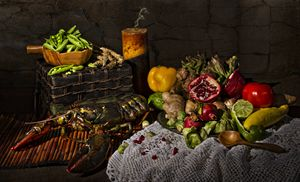 Lobster Feast - Victoria's Still Life