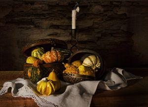Pumpkin Harvest - Victoria's Still Life