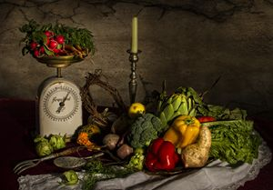 Veggie Supper - Victoria's Still Life