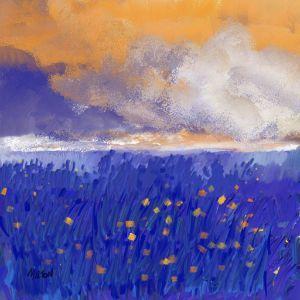 The Dutch Iris Field in W. NC - Michael Anthony Milton Gallery