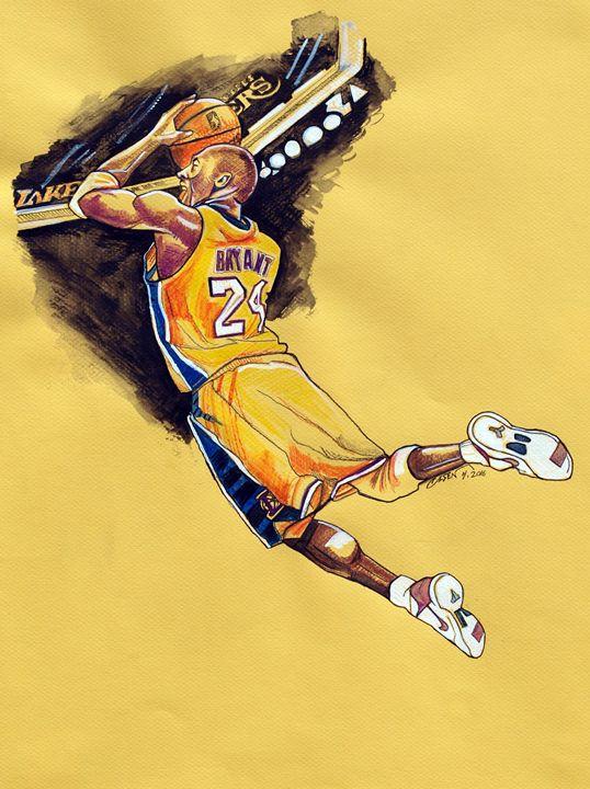Kobe's Final Season - Dave Olsen Art