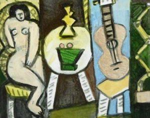 2379 figure study - oil painting